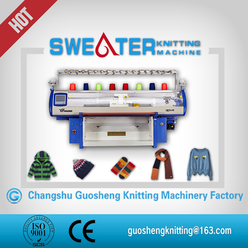 Industrial Auto Machine Knitting Sacrf For Home Use