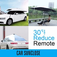 SUNCLOSE windshield car cover top selling waterproof hail resistant flood car cover water-repellent magnetic cover