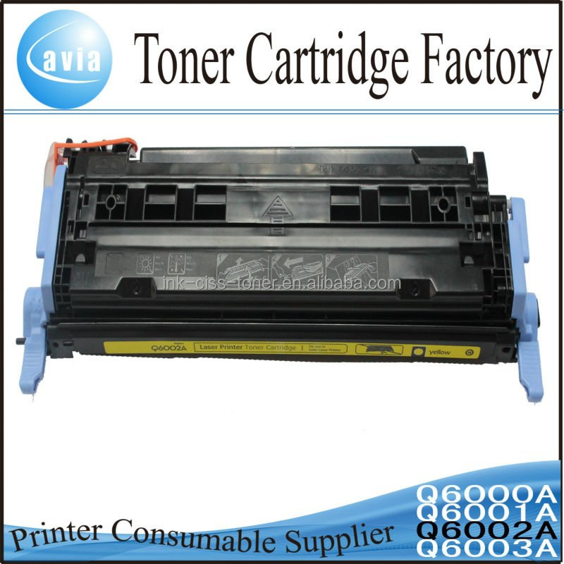 Color Printer toner cartridge 6000 for HP Laser Jet 1600/2600n/2605