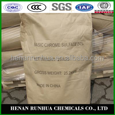 Wholesale competitive price basic chromium sulphate 33% for leather tanning