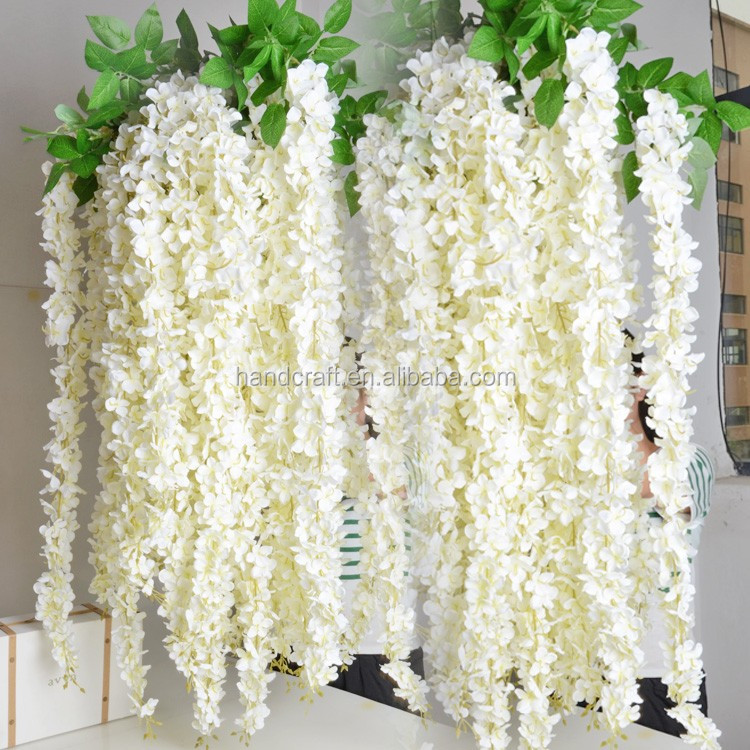 pink, white wisteria,artificial flowers wisteria wedding decoration wisteria silk flower wisteria