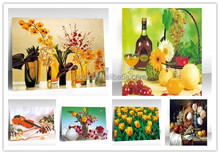 New Arrivall hanging style 3D painting pict of beautiful flowers