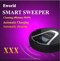 Robot vacuum cleaner price outdoor vacuum cleaner with sweeper brush ,Virtual wall
