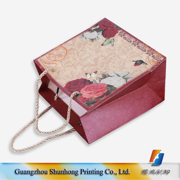 China factory cheap raw materials of packaging brown paper bag making