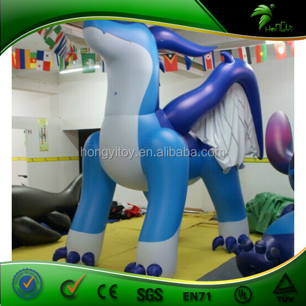 2016 Hot Sale Incredible Custom Inflatable Flying Dragon Toys For Kids From Guangzhou Hongyi Toy