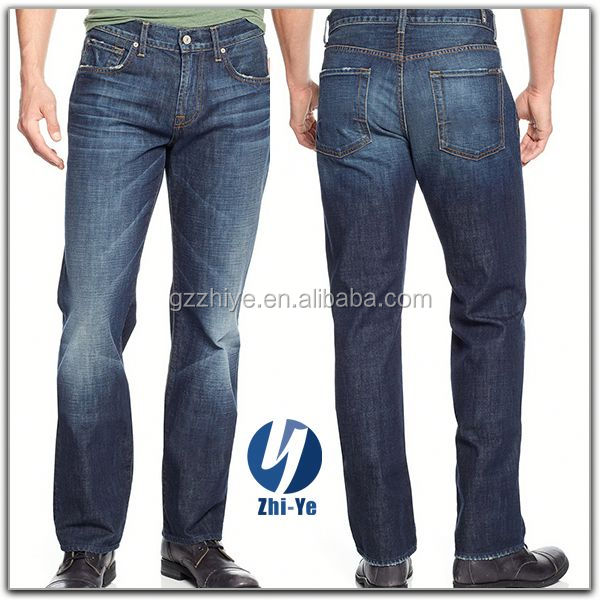 top quality fashion element name brand jeans for men