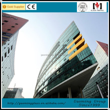 High standard CE toughened 6mm 12mm thick glass for wall