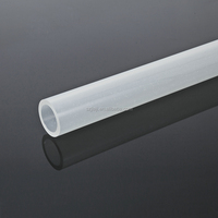 Mat surface frost acrylic tube with different diameter