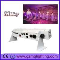 IR remote wireless dmx 6x18w battery bar powered led wall washer rgbwa uv led par can uplighting