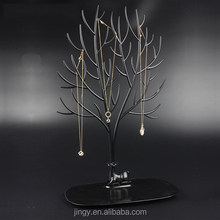 acrylic unique commercial wire tree jewelry display