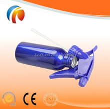 Aluminum pump sprayer hair care bottles made in China
