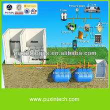 Household Biogas Septic Tank Digester