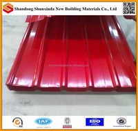 sheet metal roofing used made in China
