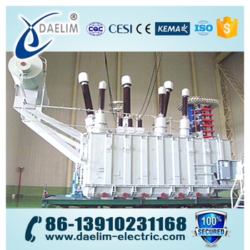 220kv 63mva Electrical Oil-Immersed Power Transformer with OLTC