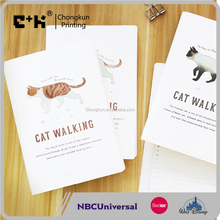 NBCU / Disney /Sedex Audit promotion stationery free sample notebook