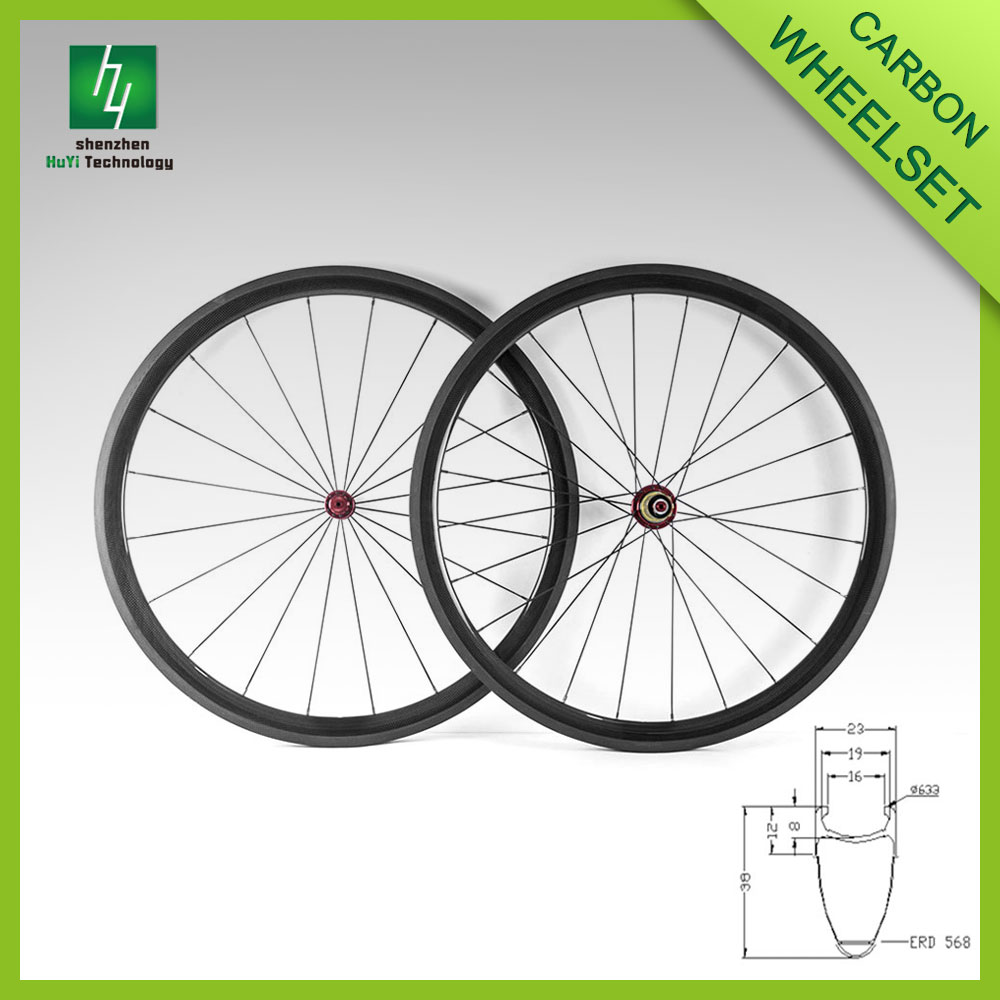700c carbon clincher 38mm carbon wheel road bike carbon fiber wheels