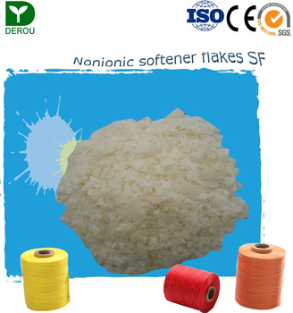 Chinese supplier textile chemial agent nonionic softener flakes SF for yarn