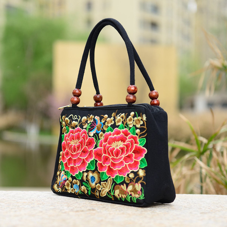 Nice Hand Embroidery Patterns Custom Personalized Small Cute Black