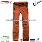 winter warm mens casual pants softshell