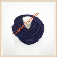 100% Polyester Chevron Infinity Scarf Wholesale
