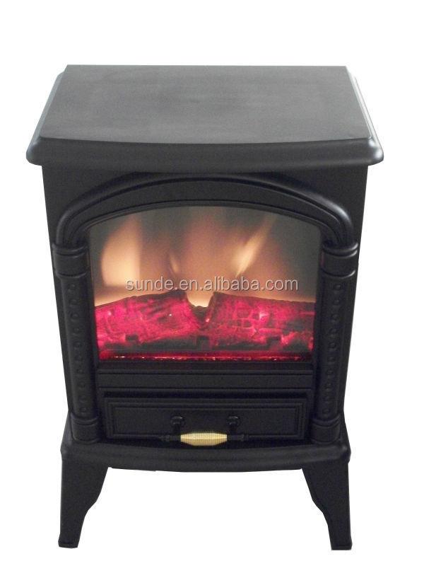 Fireplace Design fireplace heaters electric : Matt Black Mini Fireplace Heater Electric Small Electric Fireplace ...