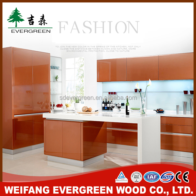 Hot Sale Fiber Kitchen Cabinet From China Furniture Factory Directly
