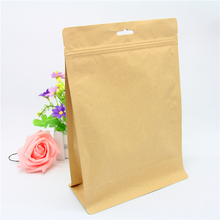 high quality stand up kraft paper bag for health food packaging