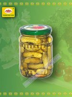 Pickled cucumber 1-4cm in jar 380ml