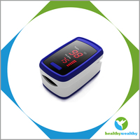 2015 HealthyWealthy New Product Hot Seller Finger Pulse Oximeter Cheap Cost with Red LED Display Safe Heart Fingertip Pulse Oxim