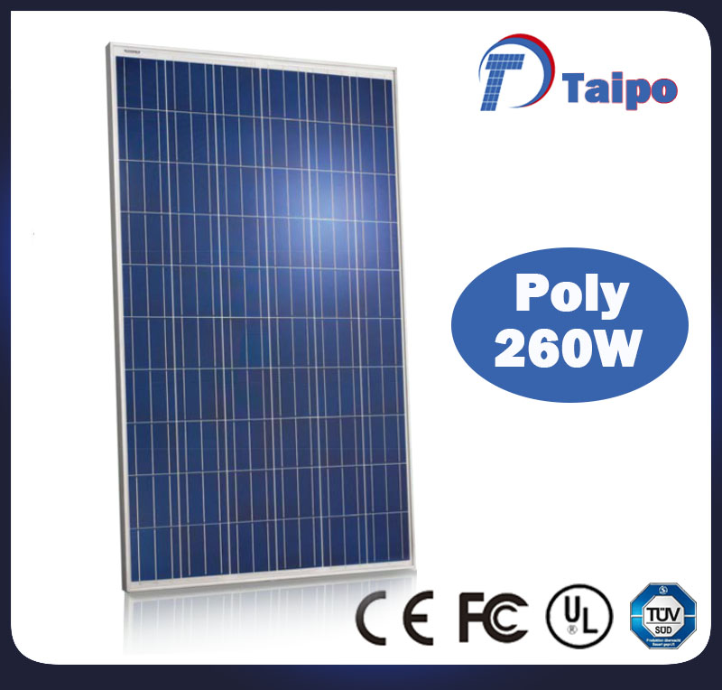 Best quality poly 260w panel solar cells pv solar panel price