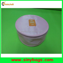High quality round cosmetic bag, round vanity bag, round vanity case