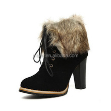 Sexy luxury trendy snow winter boots for women