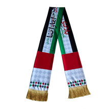 Middle East Style 2018 United Arab Emirates National Day Muslim Gift Scarf National Fag Scarf