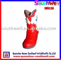 Polyresin Decoration of Boots