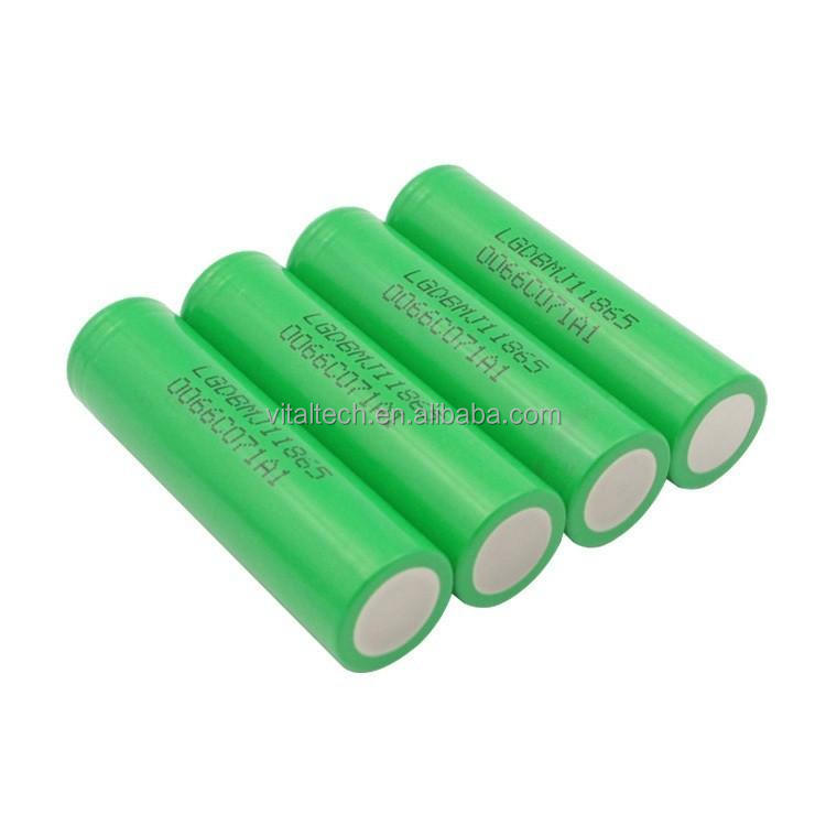 18650 li ion battery LG MJ1 3500mah 3.6V 10A 18650battery