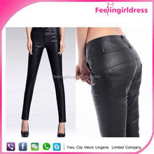 Wholesale High Quality Mature Sexy Pictures Leather Leggings For Women