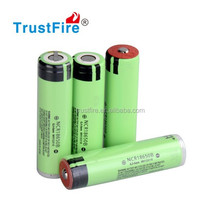 3400mah battery 3.7v Japan cells NCR 18650B