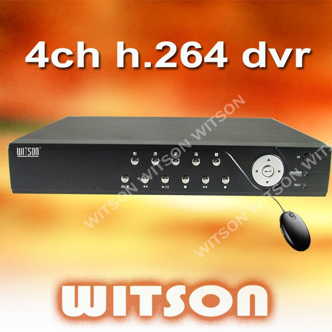 W3-D4308CWV Hot 2012 8CH H.264 CCTV Standalone DVR WITSON