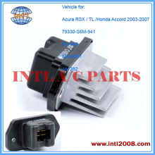 HVAC Blower Motor Resistor 79330-S6M-941 RU-348 30-0124 JA1382 3A1265 fit for Honda Accord /Acura RSX/ TL 2002-2008 2.0 3.2 3.5