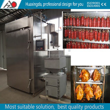 industrial smoking meat machine/fish meat sausage tofe smokehouse
