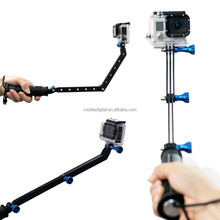High Quality Aluminum Arm Extension Mount For Go Pro Hero4 Hero3+ Hero3 2 1 Cameras