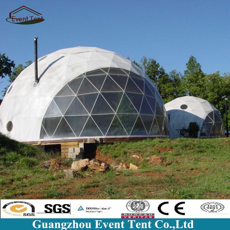 China Suppliers Dia 30meters Tent Dome Structure In Villas Steel Frame