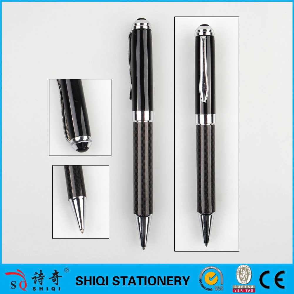 New Design Hotel Nice Luxury metal printed ball pens for gift
