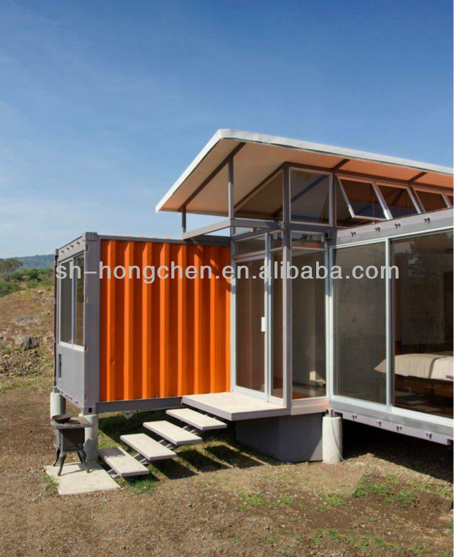 2013 Shanghai Hongchen shipping container house for sale on hot sale