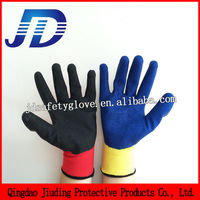 Construction equipment safety products latex wrinkling safety working gloves