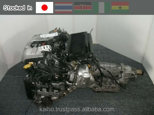 Japan used auto parts SUBARU EJ20-TT QUALITY CHECKED BY JRS (JAPAN REUSE STANDARD) AND PAS777 (PUBLICY AVAILABLE SPECIFICATION)