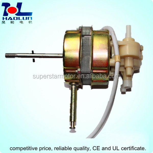 Table fan AC shade pole motor