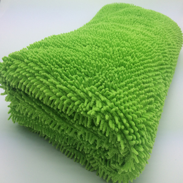 Green chenille fabric home bedroom thick floor carpet tile