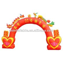 2012 Hot Newly Design Attractive Promotion outdoor inflatable entrance arches