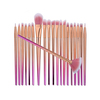 20pcs gold handle diamond/unicorn/mermaid professional private label makeup brush